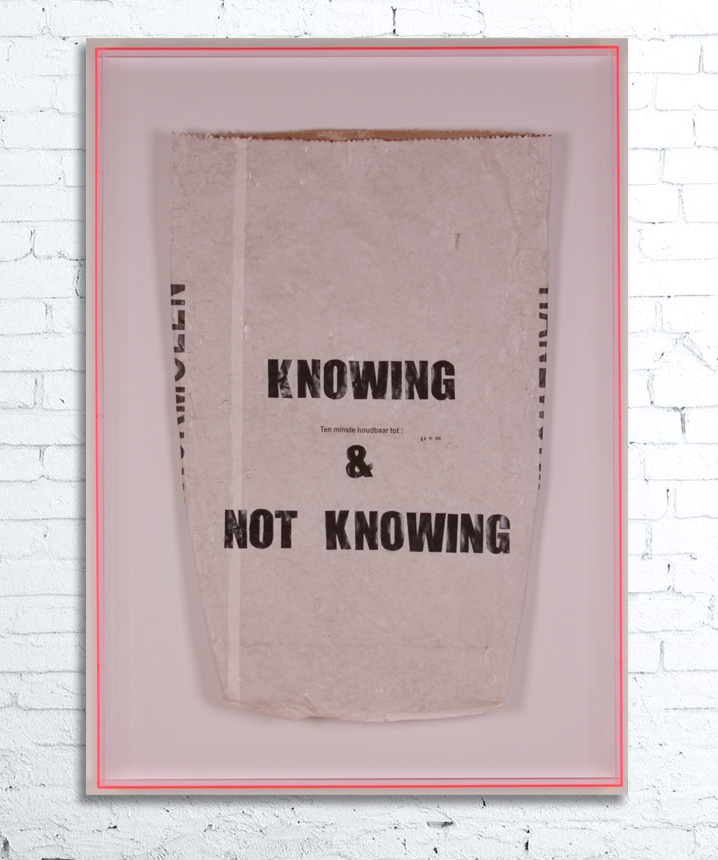 Knowing & not knowing